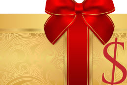 Cash Value Gift Certificate