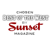 Chosen Best in the West by Sunset Magazine