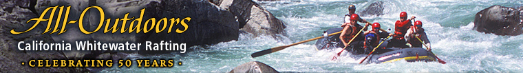 All-Outdoors California Whitewater Rafiting