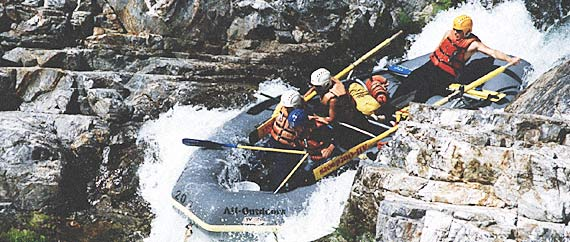 California Salmon River Rafting Trips