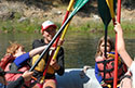 Family white water rafting discounts