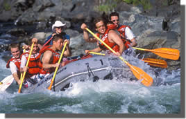 California Permitted Rafting Outfitter