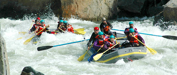 One Day Rafting Trips on the Merced River