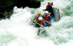 North Fork Stanislaus River Rafting