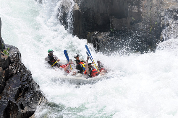 Middle Fork of the American River - Whitewater Rafting
