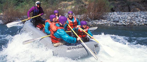 One Day Rafting Trips on the North Fork American River