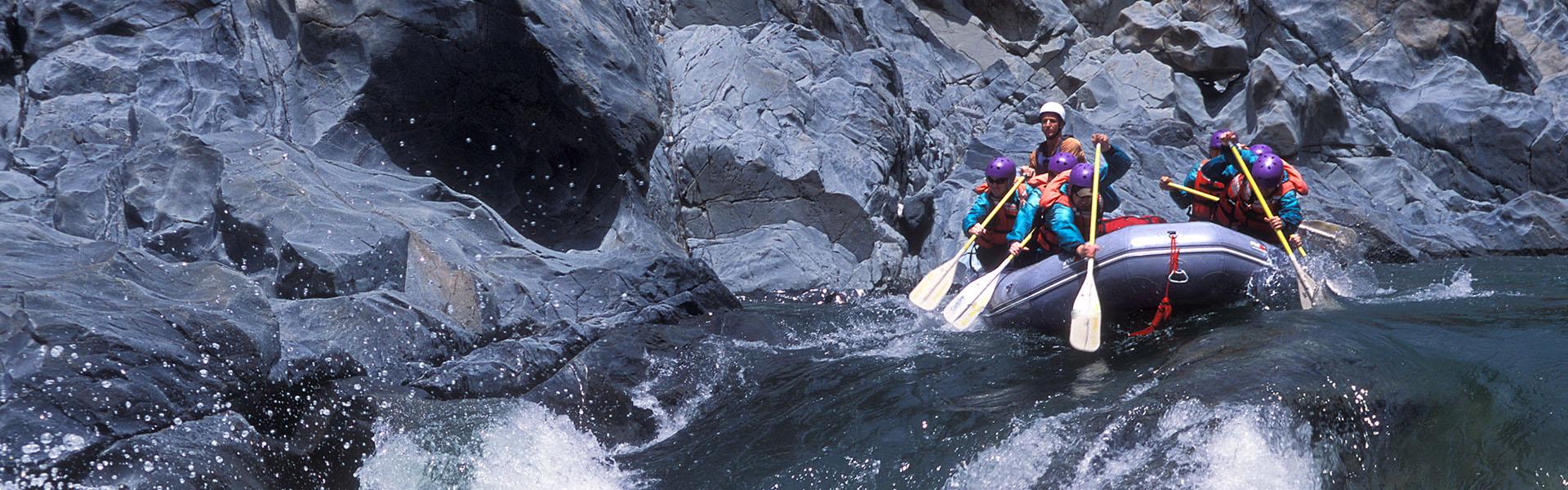 North Fork American River - Whitewater Rafting (Intermediate