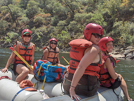 Bachelorette Party Rafting Trips