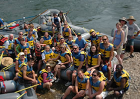 Family Reunion Rafting Trips