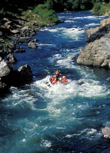 Whitewater River Rafting trips near Placerville, CA