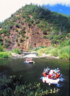 Whitewater Rafting in the Sierra Foothills, California