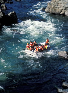 Whitewater River Rafting trips near California Wine Country