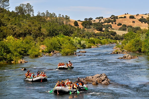 Scenery on the South Fork American River