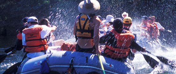 Half Day Rafting Trips on the South Fork American