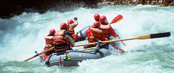 One Day Rafting Trips on the Tuolumne River