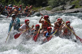rafting on the Tuolumne